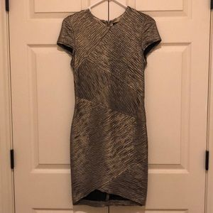 torn by ronny kobo gold party dress
